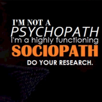Psychopathy and TV
